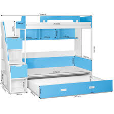 Milano Bunk Bed Kids Bunk Beds Online Shopping India Bunk Beds - Milano bunk bed