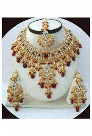 indian wedding necklace images Bridal jewellery shop indian wedding jewelry for brides online jpg