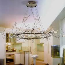 40 albero modern crystal branch oval chandelier polished chrome 8 lights