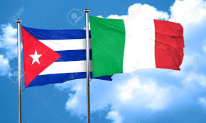 Cuba Flag Cuba Flag With Italy Flag 3d Rendering Stock Photo Picture And
