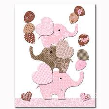 Pink And Brown Baby Shower Decorations Shop Elephant Baby Shower Decor On Wanelo
