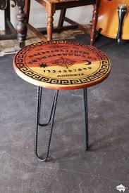 Ouija Board Coffee Table by Custom Hardwood Furniture By Fat Bison Fat Bison Workshop