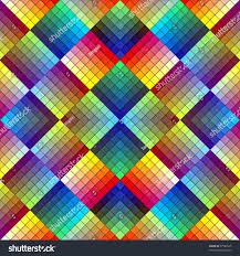 art deco mosaic tile retro style stock illustration 97586525