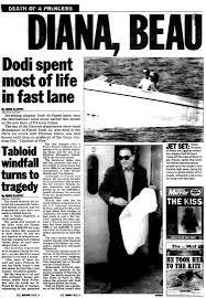 princess diana dies at 36 in a high speed car crash in 1997 ny