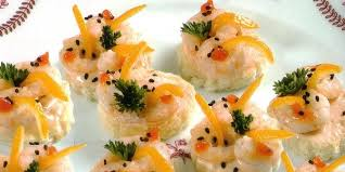 canap avocat crevette canapés aux crevettes les salés plats du maroc