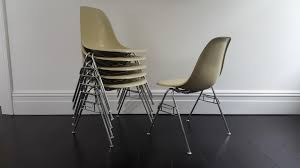 vintage dss fiberglass shell chair by charles u0026 ray eames for