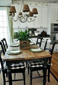 white farmhouse table black chairs farm house kitchen table farmhouse kitchen black and white