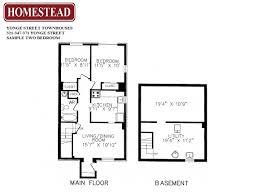 16 yonge street floor plans yonge street townhouses homestead