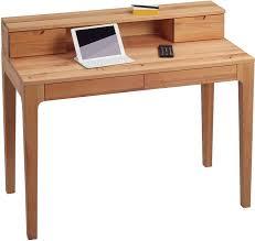 Kleinen Schreibtisch Kaufen Hometrends4you 612117 Schreibtisch 110 X 76 96 X 55 Cm Kernbuche