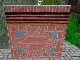 second marketplace ornamental ornate brick wall