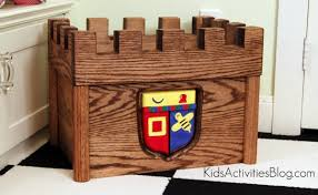 Plans For Wooden Toy Chest by Castle Toy Chest
