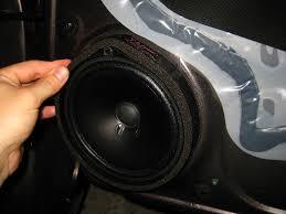 2006 honda civic speakers civic front door speaker replacement guide 033