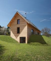 homes built into hillside how to artfully build a house on a hillside