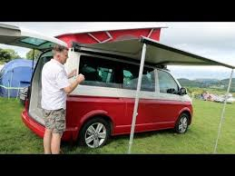 California Awning Vw California Ocean How To Put Away The Picnic Table Chairs And