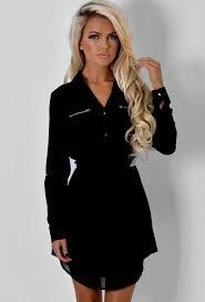 pink boutique dresses alyona black pocket shirt dress pink boutique dress me