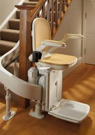 new curved stairlift brooks 180 12 month warranty fully fitted