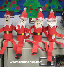 Christmas Crafts For Classroom - 36 best santa clause crafts images on pinterest christmas ideas