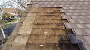 Flat Tile Roof Fascia Board Replacement On A Flat Tile Roof Termite Damaged Or