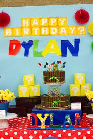 super mario 3d party cake