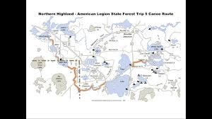 Namekagon River Map Bwca Wi Wilderness Trip Planning Boundary Waters Trip Planning Forum