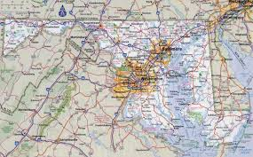 map of maryland with cities large detailed roads and highways map of maryland state with