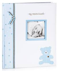 baby record book lil baby memory book blue baby photo