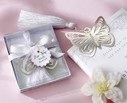 baptism favors 25pcs lot butterfly bookmark for wedding decoration wedding