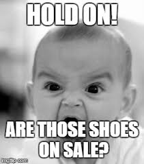 Meme Shoes For Sale - angry baby meme imgflip