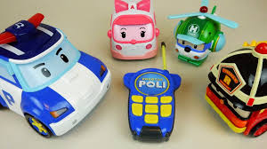 poli remote robot car u0026 robocar poli tayo bus soft car toys