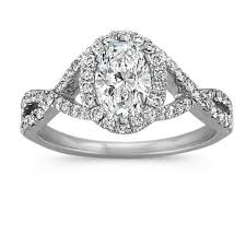 infinity engagement rings oval halo infinity engagement ring with diamonds shane co