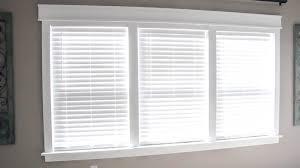 Blinds For Triple Window Remodelaholic Diy Easy Craftsman Window Trim