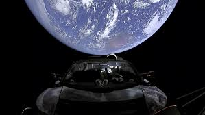 how long would it take to travel to mars images Space sports car now flying toward asteroid belt beyond mars the jpg