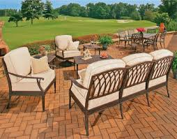 Venezia Collection Cast Aluminum Outdoor Furniture - Outdoor aluminum furniture