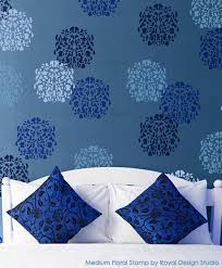 stencil wall art home design