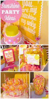 Halloween Themed 1st Birthday Party by 124 Best Sunshine Party Ideas Images On Pinterest Birthday Party