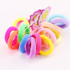 elastic hair bands 5pcs lot new kids small hair ropes candy colors elastic hair bands