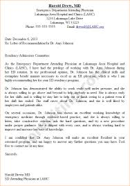 collection of solutions good recommendation letter for medical