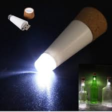 cork shaped rechargeable bottle light new fashion design romantic cork shaped empty bottle plug light