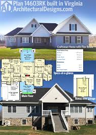 our client built architectural designs house plan 14603rk in