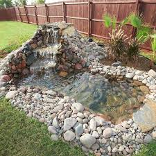 Waterfall In Backyard Build A Backyard Pond And Waterfall Home Design Garden