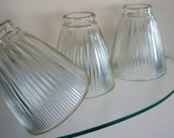 clear glass shade etsy