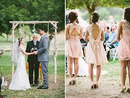wedding arch log hashtag adorable pink wedding