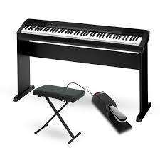 Keyboard Stand And Bench Casio Cdp 130 Digital Piano With Cs44 Wood Stand Sustain Pedal And
