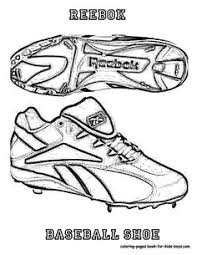 nike baseball shoes coloring sheet at yescoloring www yescoloring