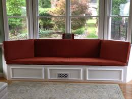 bay window seat cushions also upholstered bench cushion also