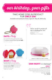 Home Interiors Party Consultant 2015 Tupperware Birthday Weeks Flyer Canada By Mytwpage Issuu