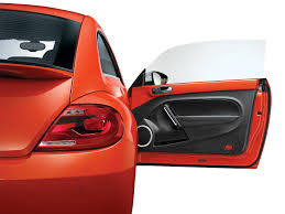 orange volkswagen beetle new volkswagen beetle india launch price pics