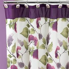 amazon com popular bath jasmine shower curtain plum home kitchen