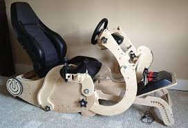 Racing Simulator Chair Go Go Convertible Rocking Chair Doubles As A Workstation And Racing