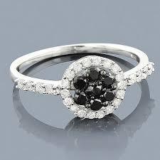 black diamond promise ring black diamond promise ring 14k 0 52ct